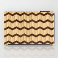 Wooden Chevron iPad Case