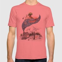 Invincible Summer Mens Fitted Tee Pomegranate SMALL