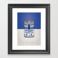 MY STAR WARHOLS R2D2 MIN… Framed Art Print
