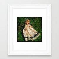 The Secret Garden II Framed Art Print