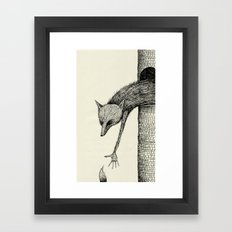 'You're Too Late' Framed Art Print