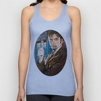 The Tenth Doctor and His TARDIS Unisex Tank Top