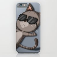 Sunbathing Cat iPhone 6 Slim Case