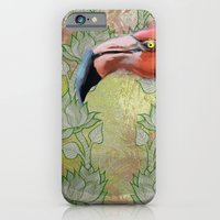 iPhone & iPod Case featuring Red big bird by Anna Tarach