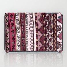 Yzor pattern 004 lilac iPad Case