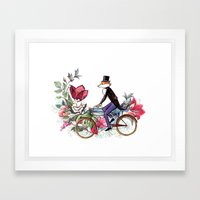 Season Of The Fox Framed Art Print