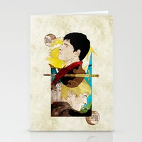 The King And His Sorcero… Stationery Cards