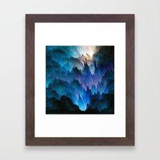 Dendritic Framed Art Print