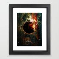 DUNE Planet Arrakis Post… Framed Art Print