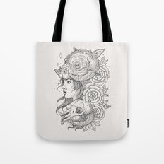 Tauntaun Girl Tote Bag
