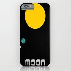 The Moon in Minimal iPhone 6 Slim Case