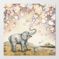 Bubble Dreams Canvas Print