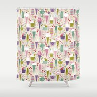Summer Delights  Shower Curtain