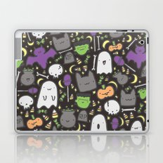 Kawaii Halloween - Black Laptop & iPad Skin