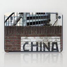 China - Chinese Wall 2.0 iPad Case