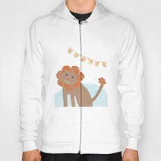 lion collage Hoody