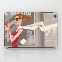Le Bistro iPad Case