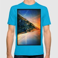 CD (35mm multi exposure) Mens Fitted Tee Teal SMALL