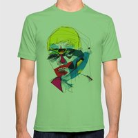 041112 Mens Fitted Tee Grass SMALL
