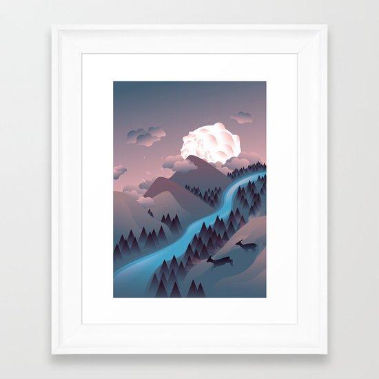 Sunquake Framed Art Print