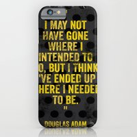 Intentions  iPhone 6 Slim Case