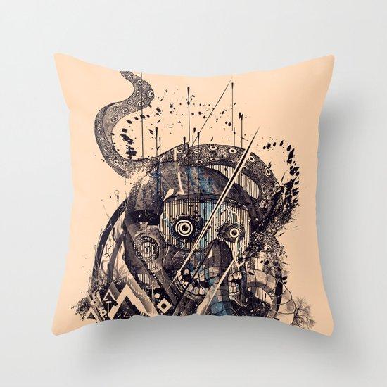 Mayday-Mayday-Mayday Throw Pillow
