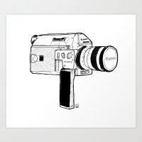 Super8 Art Print