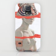 TIGER GIRL Galaxy S5 Slim Case