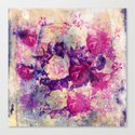 bouquet de roses Canvas Print