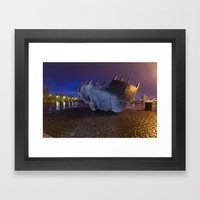 Merchant Seafarer's War … Framed Art Print