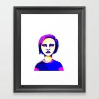 Hard Mix Framed Art Print