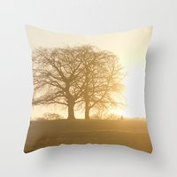 The light within us Throw Pillow