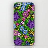 Wild Wallflowers (Color) iPhone & iPod Skin