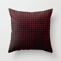 Harlequin - Textured Pat… Throw Pillow