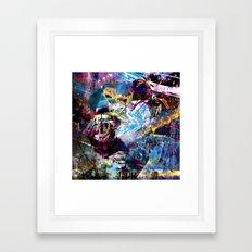 Hyper - Vulture Framed Art Print