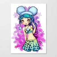 Cherry Bon Bon Canvas Print