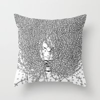 The Distance Between Me … Throw Pillow