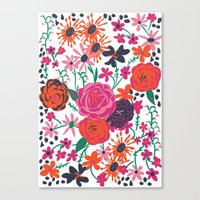 blooming love Canvas Print