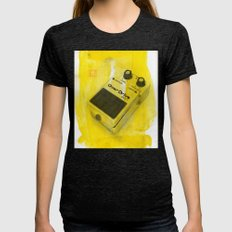 Overdrive Pedal Womens Fitted Tee Tri-Black SMALL