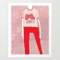 OBEY Art Print