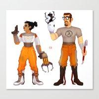 Chell & Gordon Canvas Print
