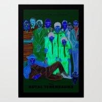 Movies we like - The Royal Tenenbaums Art Print