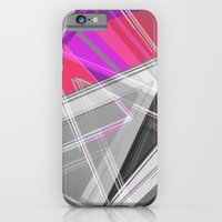 iPhone & iPod Case featuring ∆Pink by AJJ ▲ Angela Jane Johnston