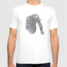 Anatomy 2 White SMALL Mens Fitted Tee