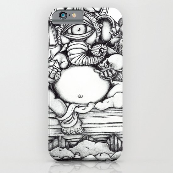 Abstract Ganesh iPhone & iPod Case