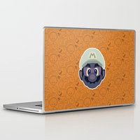 mario Laptop & iPad Skins featuring Mario by Kuki