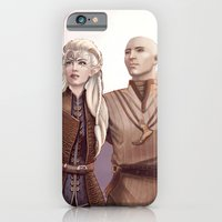 Dragon Age - Finding Skyhold - Solas and Inquisitor iPhone 6 Slim Case