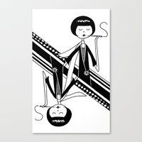 Playing Card - Queen Canvas Print
