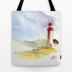 Lighthouse Impressions Tote Bag