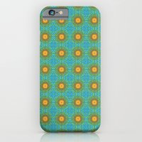 iPhone & iPod Case featuring Yellow Salsify Flower Pattern by Peter Gross